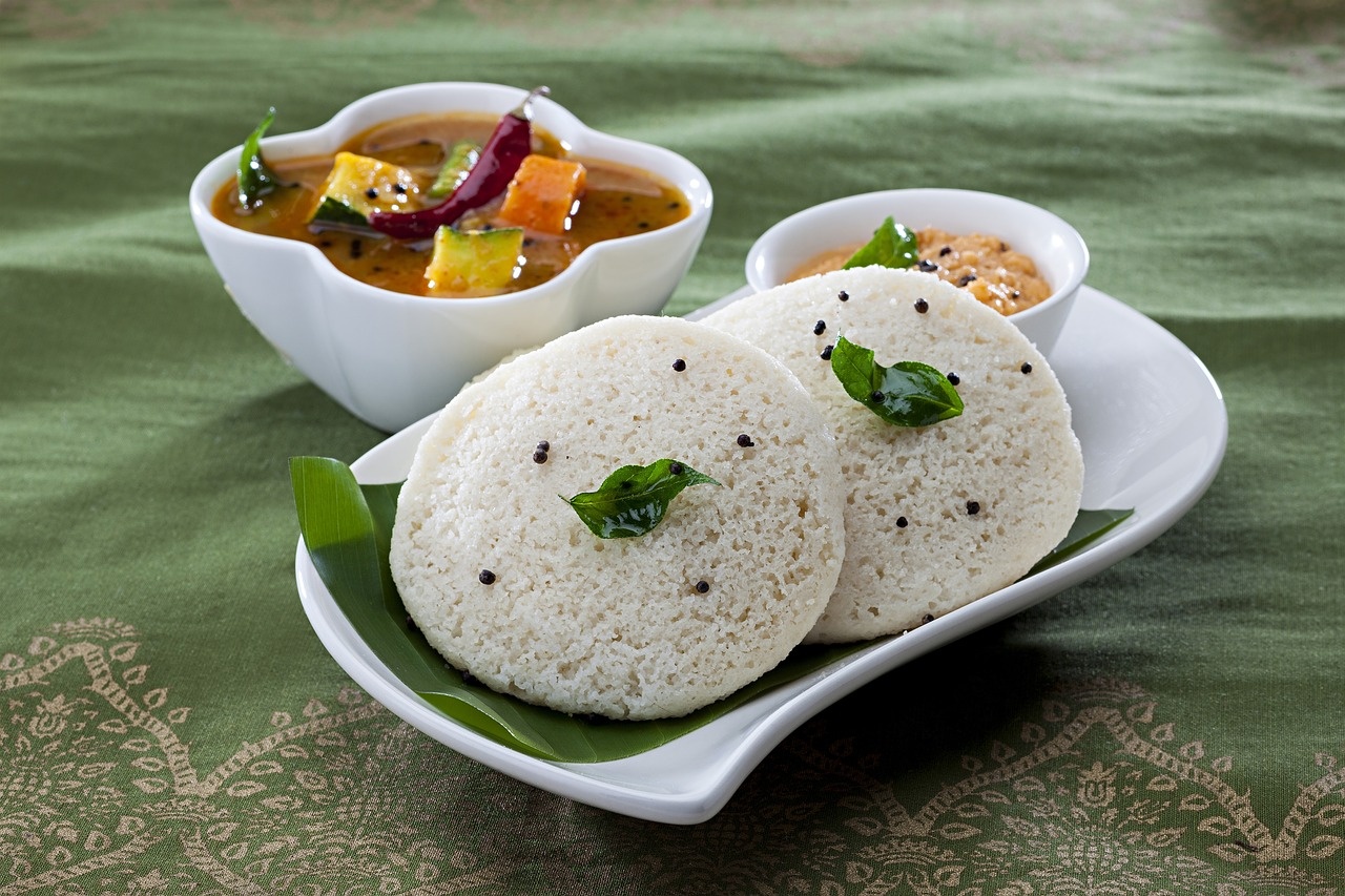 Southern India breakfast