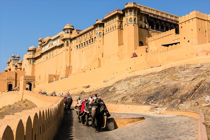 Amber Fort entrance, Jaipur