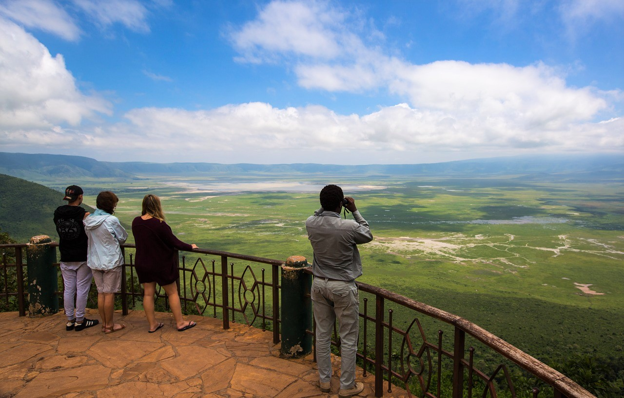 Ngorongoro Crater scenic overlook
