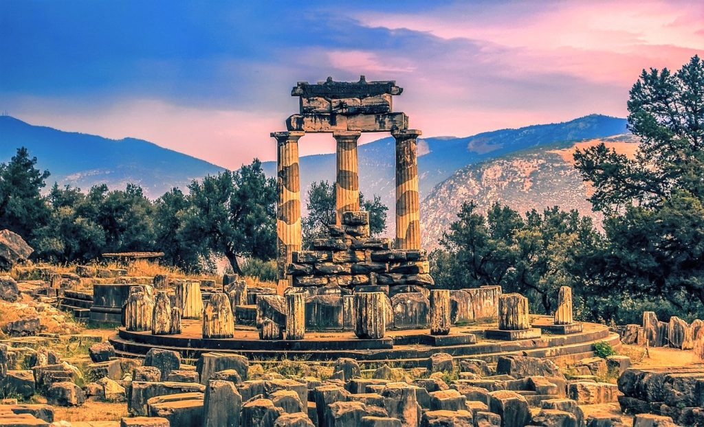 Greece tour, Delphi