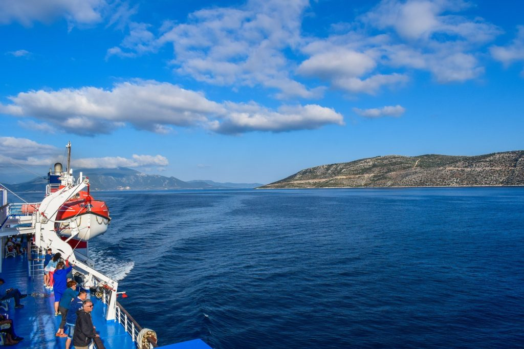 Greece tour with island hopping on high speed ferry