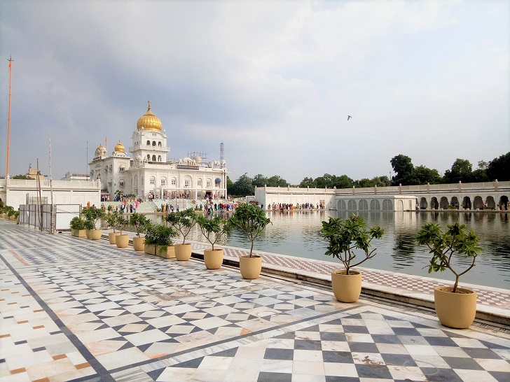 North India temples, Gurudwara Bangla Sahib