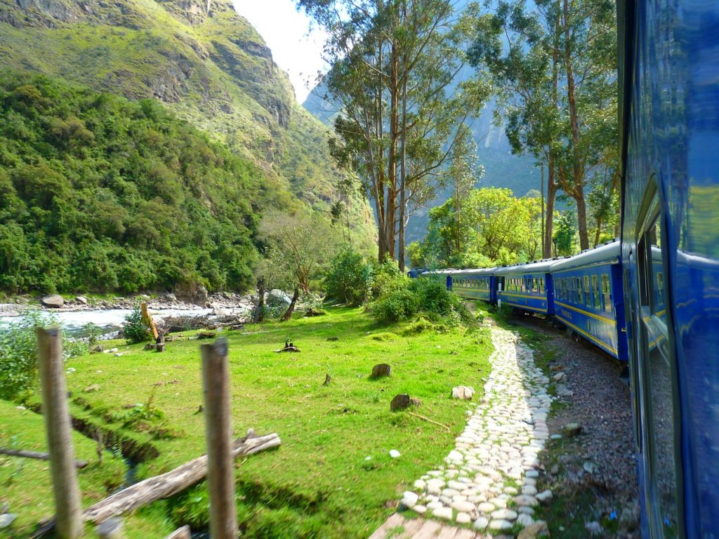 Machu Picchu train to Cusco
