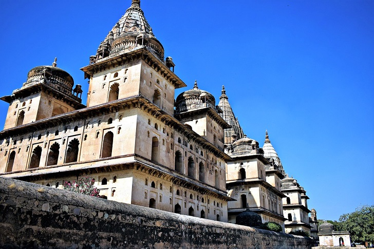 North India temples, Orchha