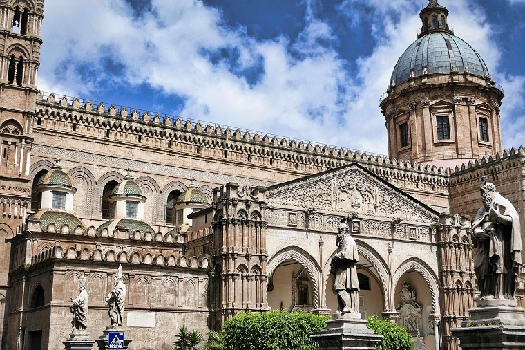 Palermo Sicily Monreale Cathedral