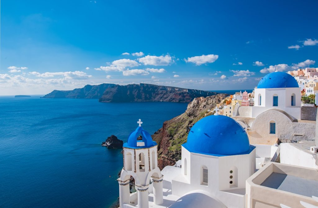 Greece tour with island hopping Santorini