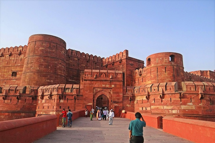 North India temples, Agra Fort