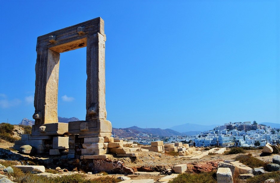 Naxos Cyclades Greece